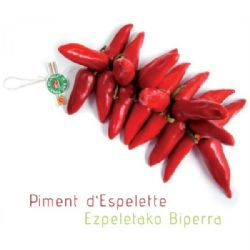 String of Espelette Peppers |  AOP | PDO | Basque | Pepper | Buy Online | UK